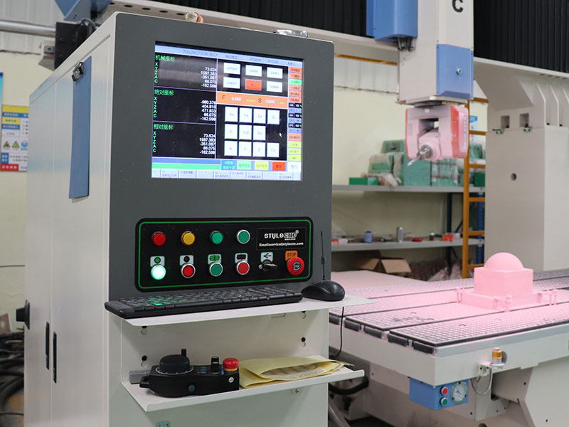 5 axis CNC router with OSAI control system
