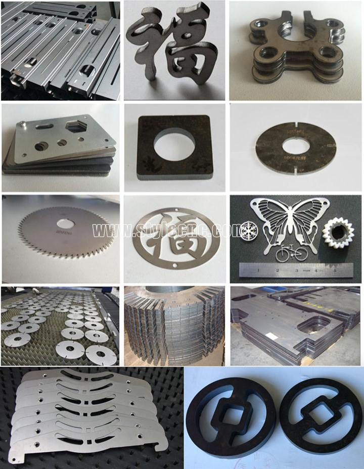 Fiber laser cutting machine projects