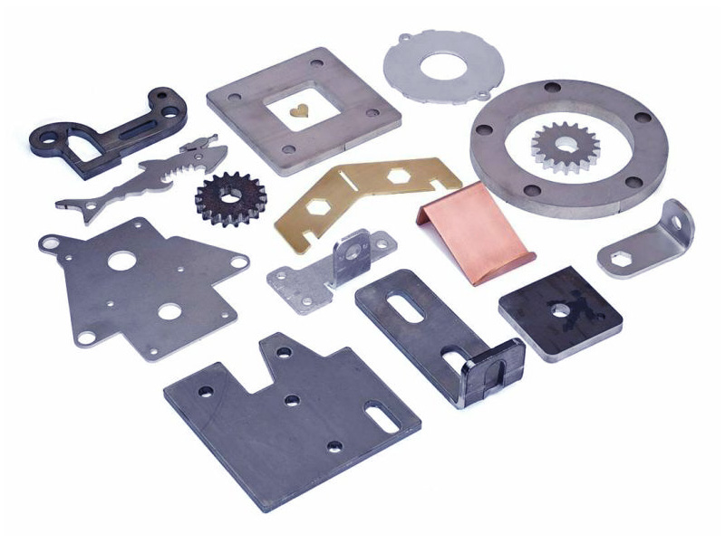 Fiber laser cutting machine samples