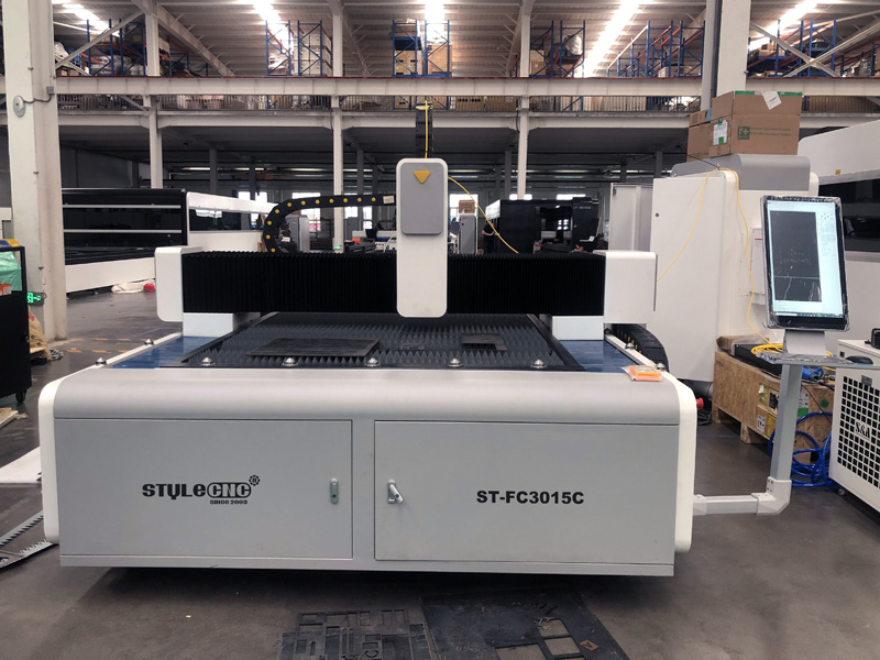 The Second Picture of Fiber Laser Cutting Machine for Sale at an Affordable Price