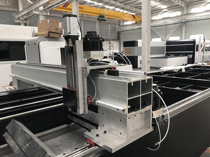 Fiber laser cutting machine casting iron structure