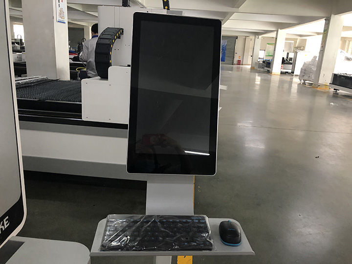 The Second Picture of 500W/1000W Fiber Laser Cutting Machine for sale