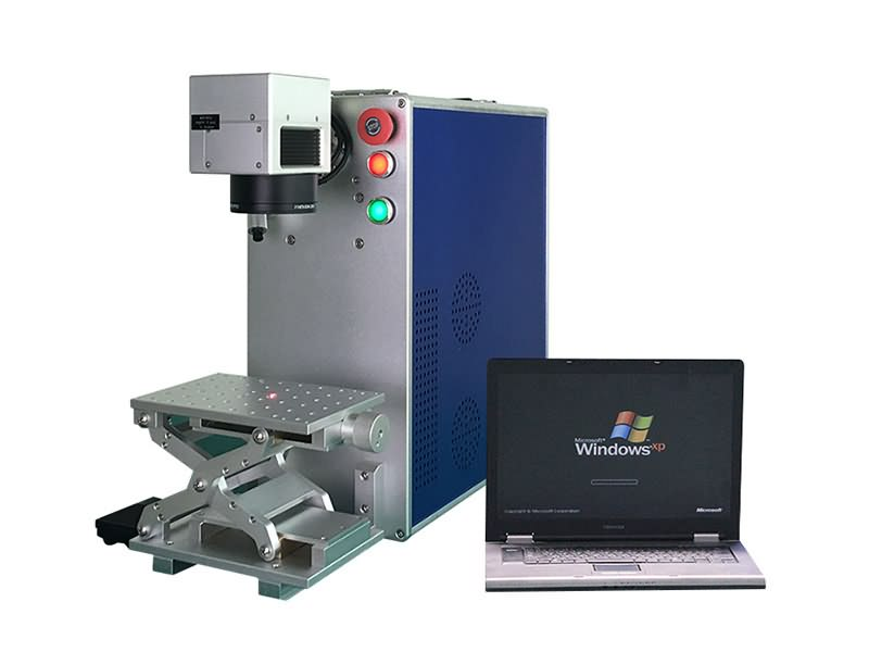 portable type fiber laser marking machine