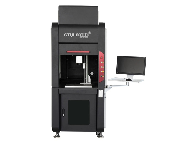 enclosure type fiber laser marking machine