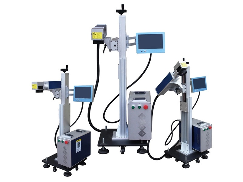 detached type laser marking machine