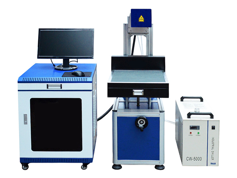 Low cost co2 laser marking machine