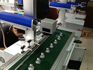Fiber laser marking machine in metal manufacturing