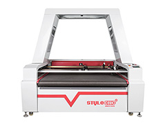 STYLECNC® Laser Fabric Cutting Machine for sale with double heads