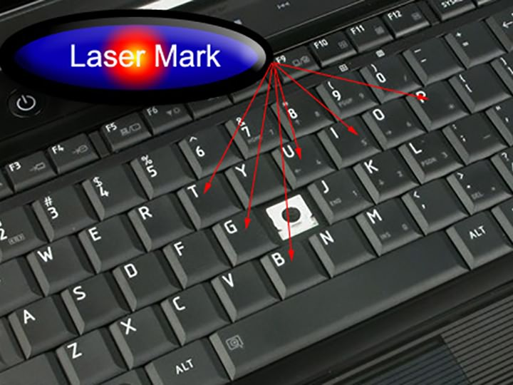 Laser engraving machine and laser marking machine used in consumer electronics