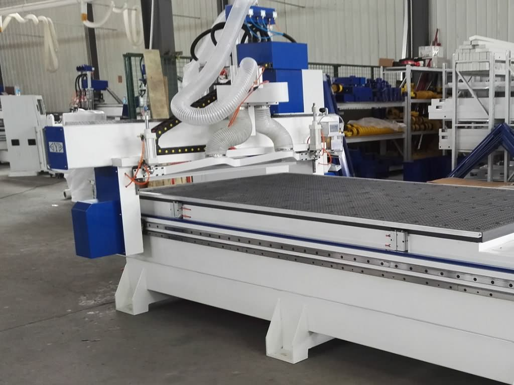 4x8ft CNC Router with Multi-spindles Features