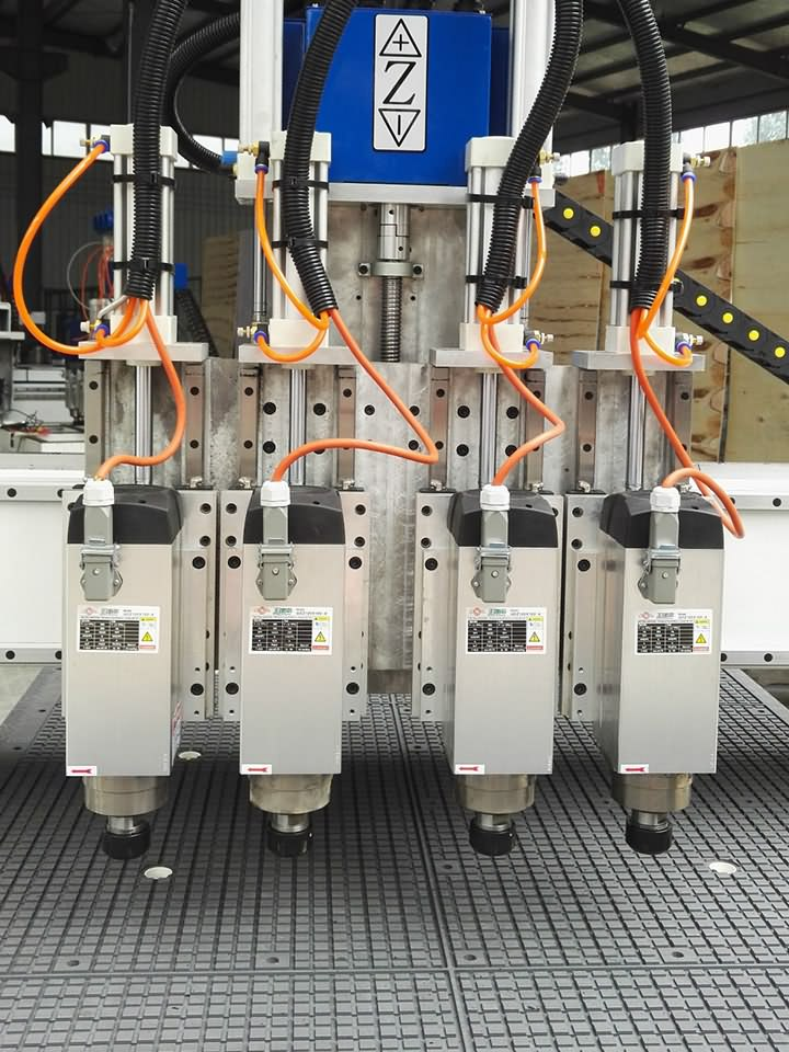 Multi-spindles CNC Router