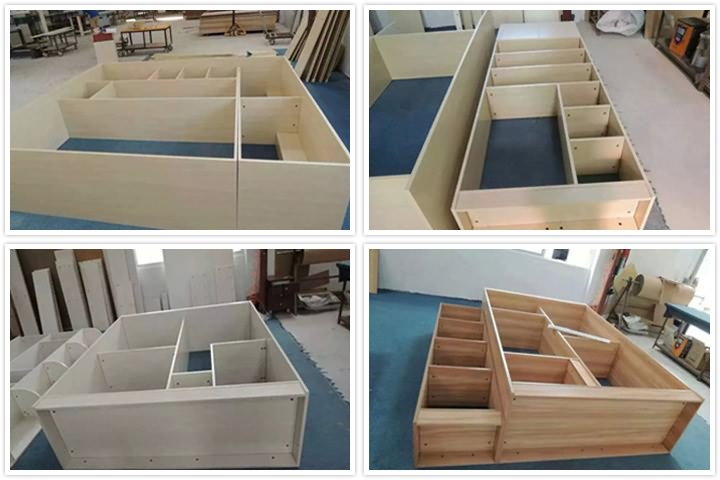 Projects of 4x8 CNC Router with Multi-spindles