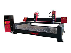 Tombstone CNC Router with dual spindles