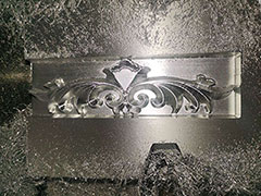 Video of aluminum molds cnc router