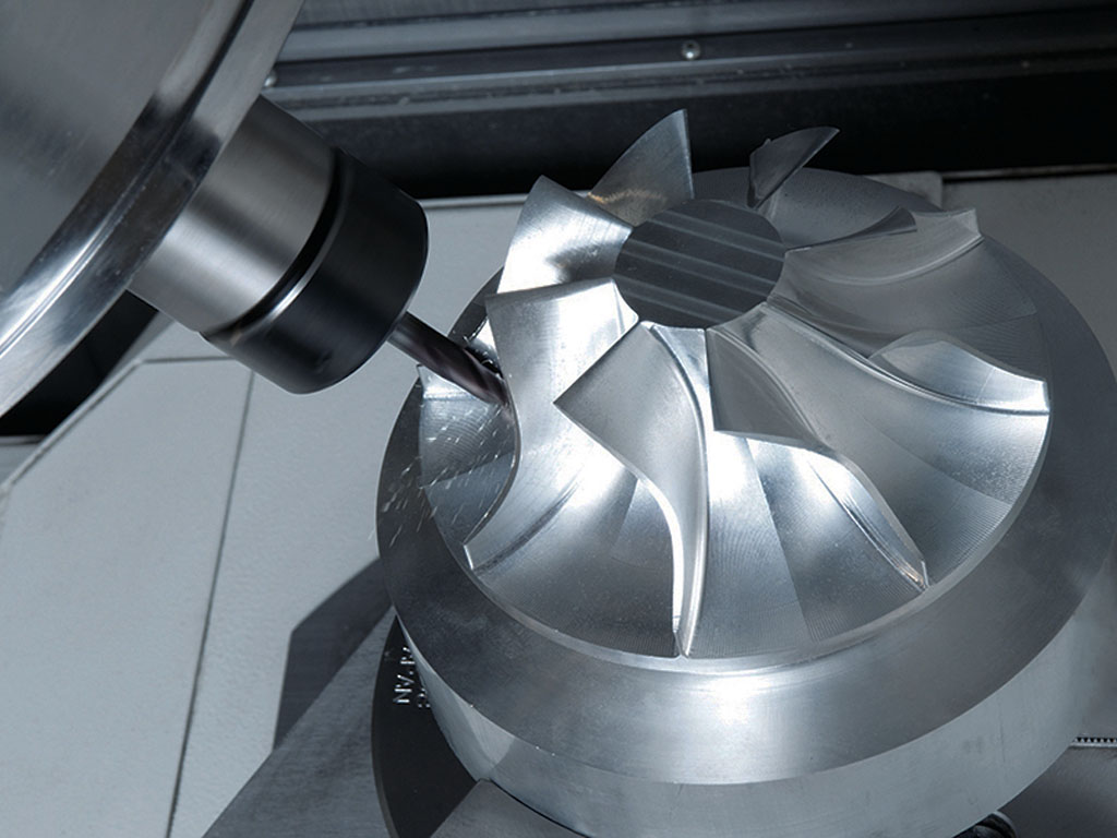 Aluminum molds CNC milling machine samples