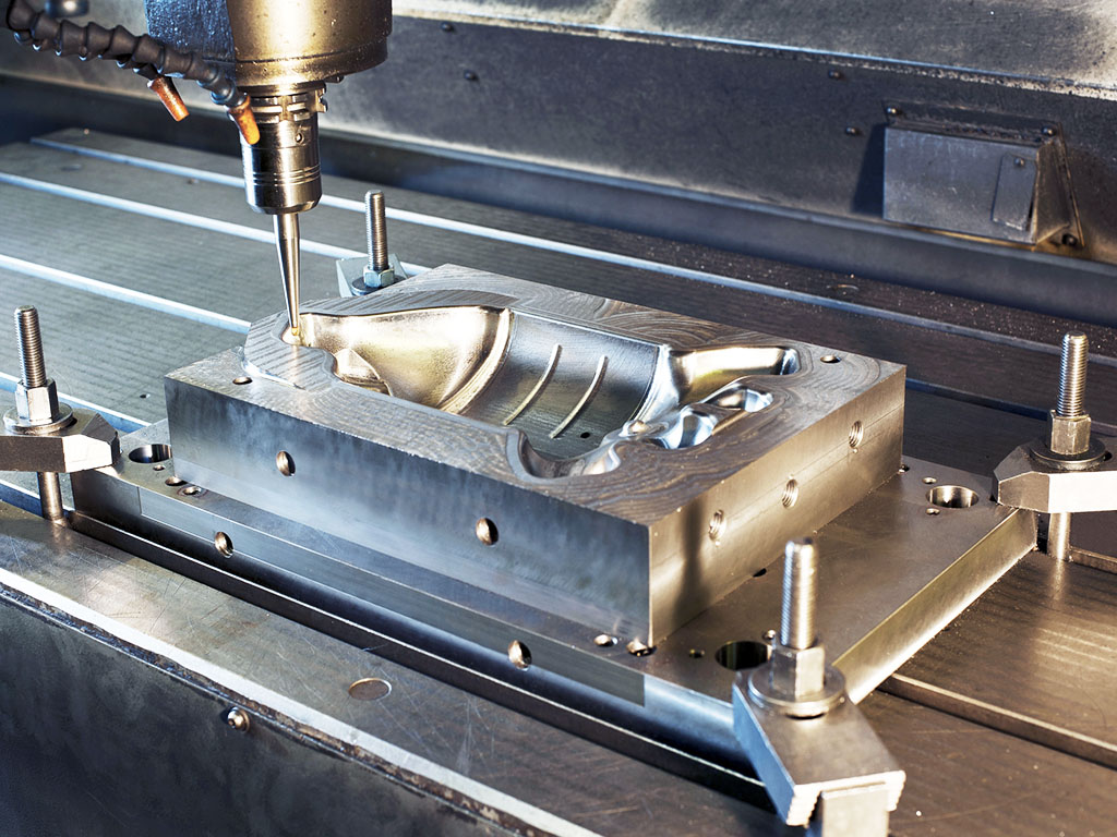 aluminum cnc milling machine samples