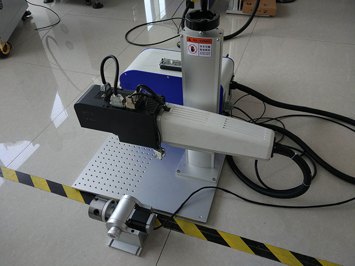 3d focus fiber laser engraving machine