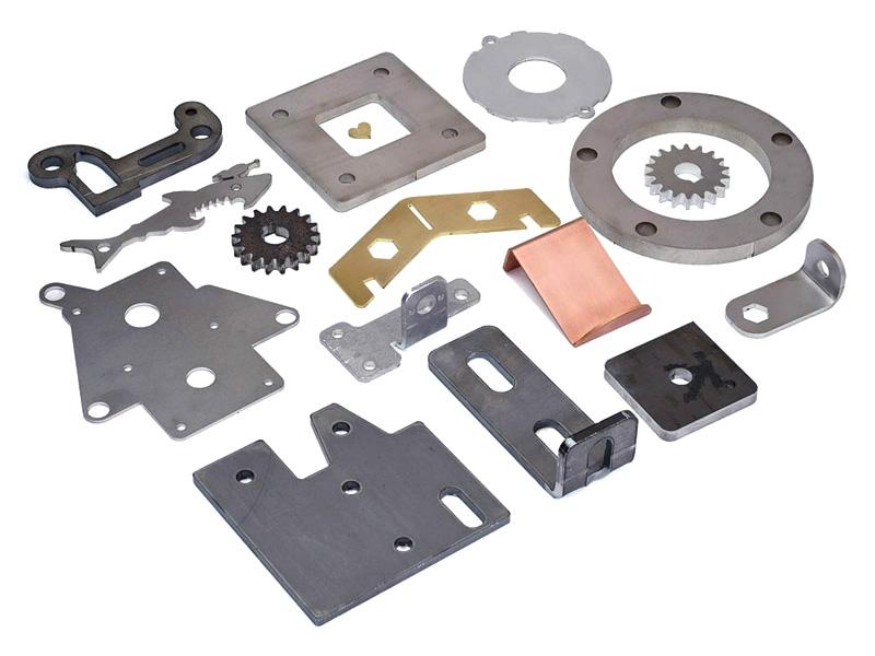 Metal sheet fiber laser cutter projects