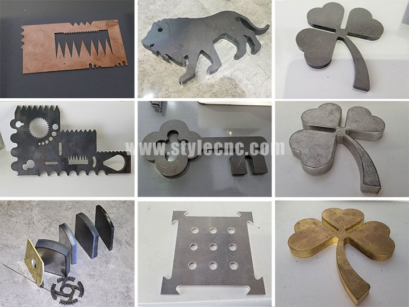 500w fiber laser cutter samples