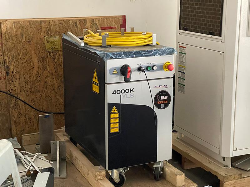 ipg 500W fiber laser cutter
