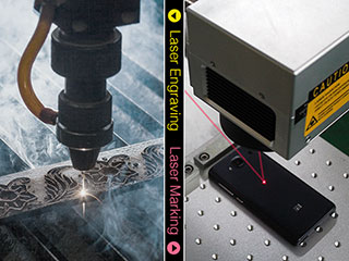 The difference between laser engraving machine and laser marking machine