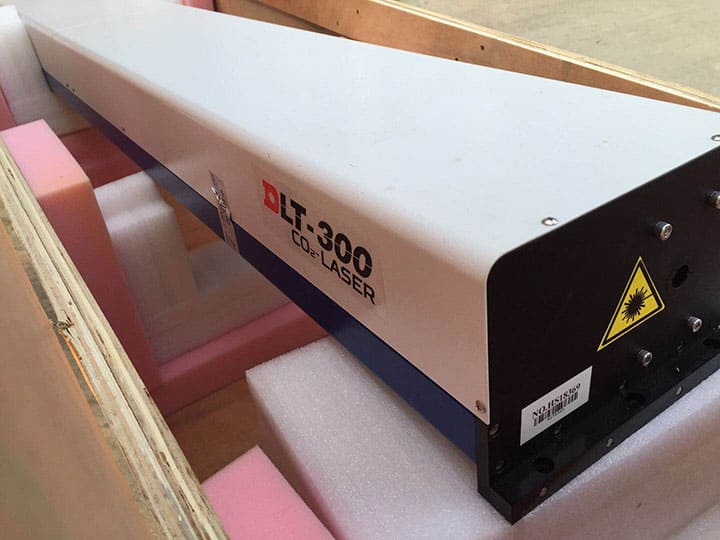 300W co2 laser tube