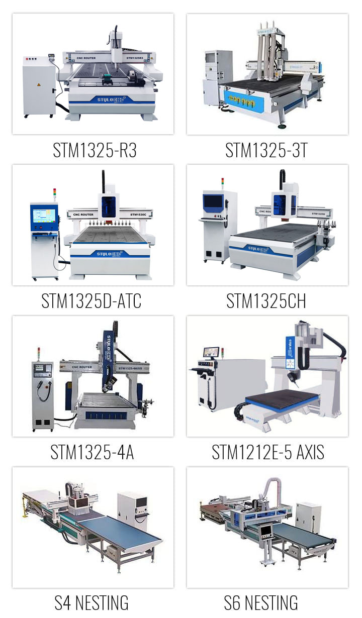 CNC wood router machines