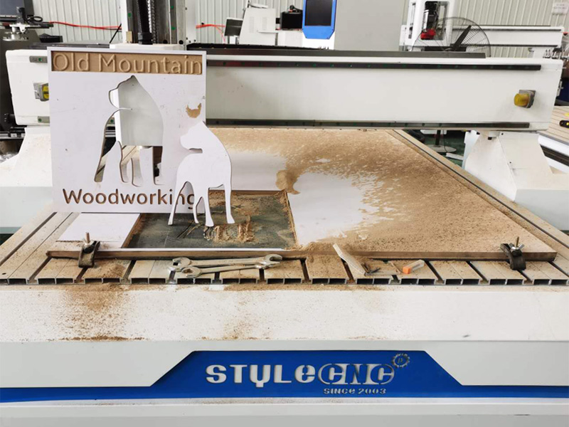 CNC wood router project