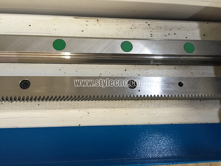 CNC stone carving machine Hiwin guide rails