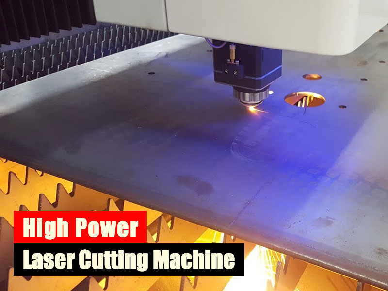 High power laser cutting machine development analysis