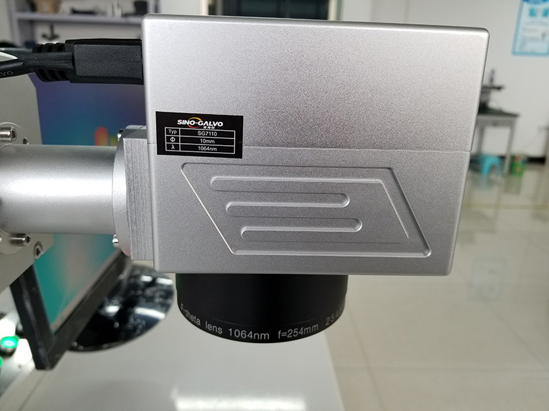 The Third Picture of MOPA Fiber Laser Marker for Stainless Steel, Titanium, Aluminum, Copper