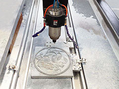 How to speed up stone CNC router?