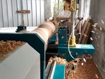 CNC Wood Lathe Turning Operation