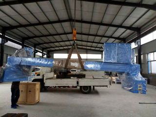 Customized gantry plasma cutting machine with 4*8m