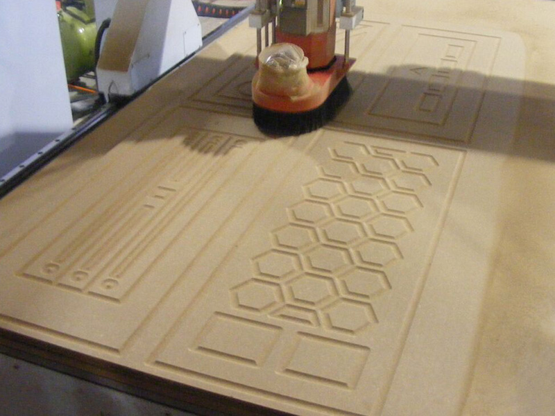 CNC Router for Door making