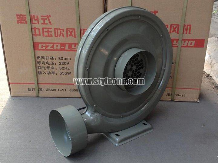 exhaust fan for laser cutting machine