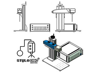 Laser marking machine system setup