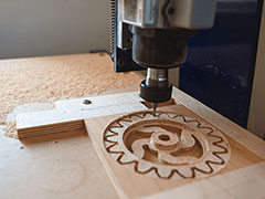 CNC router machine cutting quality and accuracy
