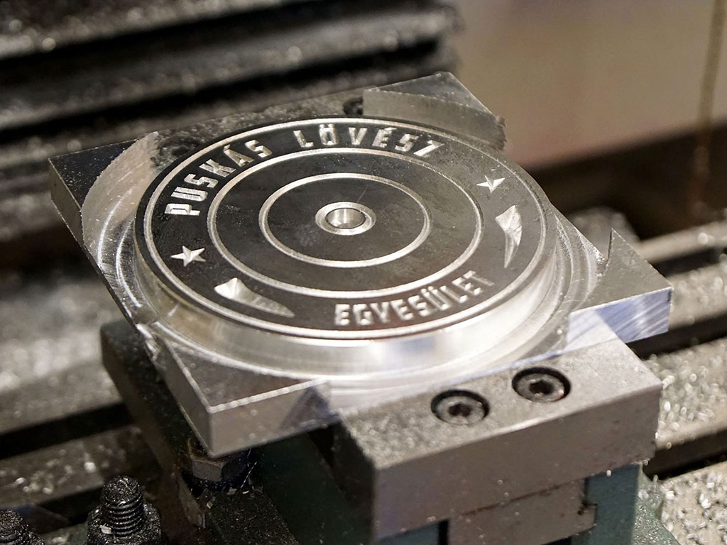 Metal engraving machine applications and samples