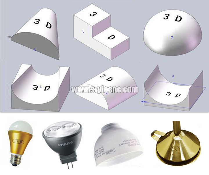 3D laser marking machine samples