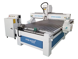 1325 CNC Router with 4 Axis Rotary Table