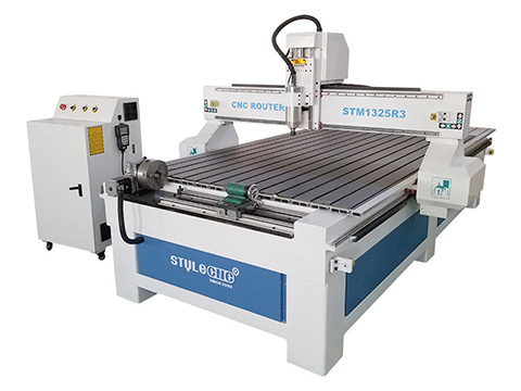 STYLECNC® 1325 CNC Router with 4 axis rotary