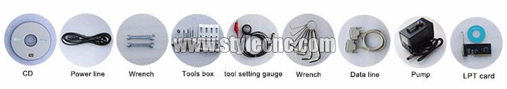 6090 CNC Router tools