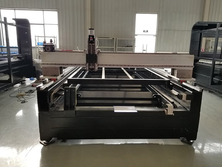 heavy duty laser cutting machine frame