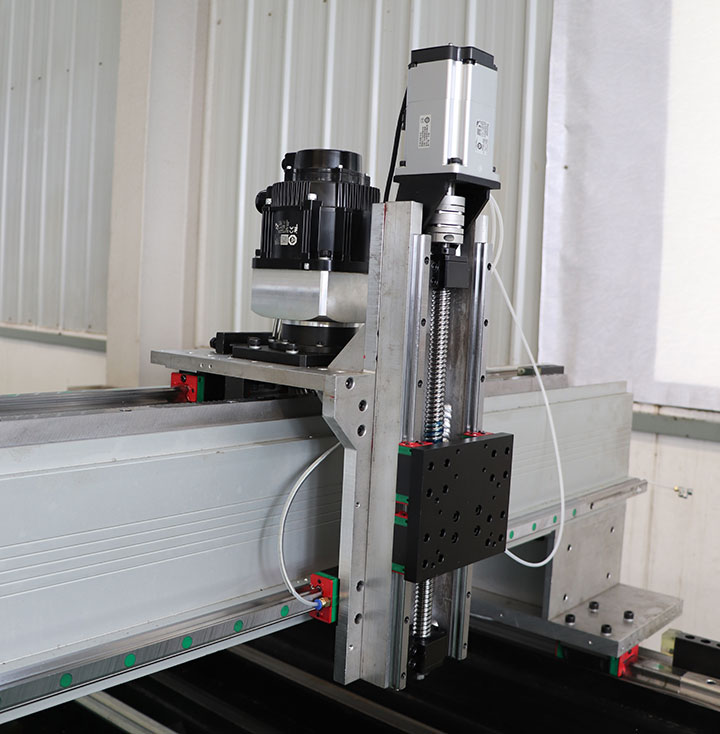Fiber laser metal cutting machine 500w sample