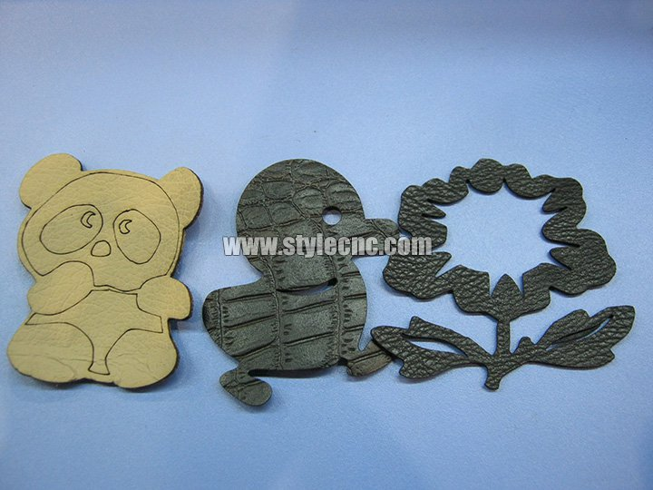 Leather laser cutter samples