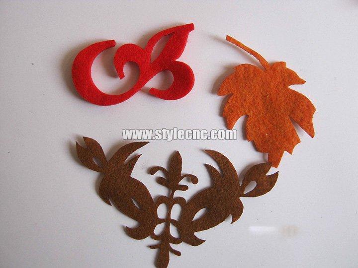 Textile laser cutter samples