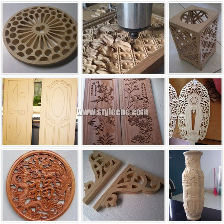Samples of Cheap CNC Router Machine with DSP Control System
