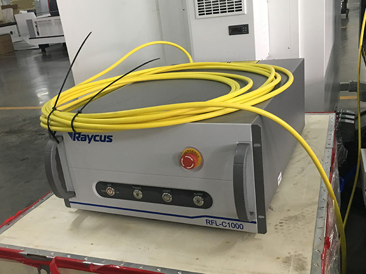 Raycus laser cutter