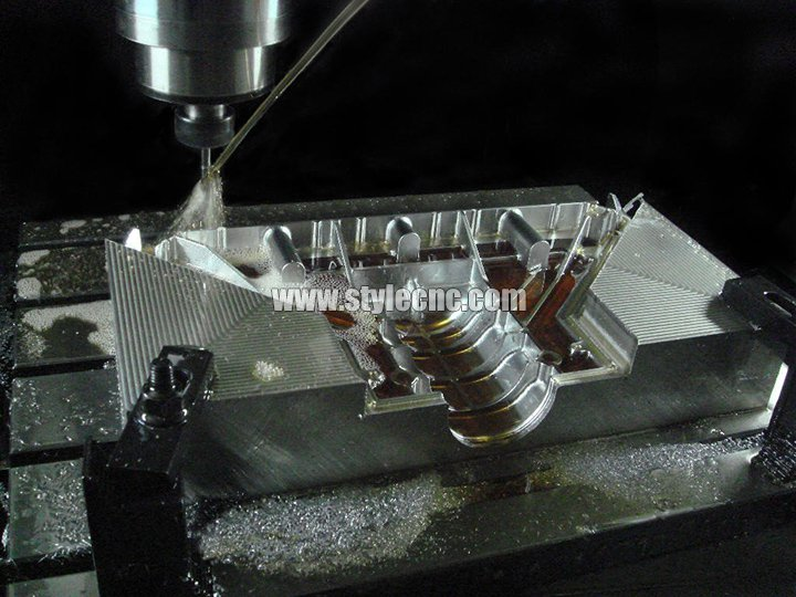 CNC moulding machine sample for metal